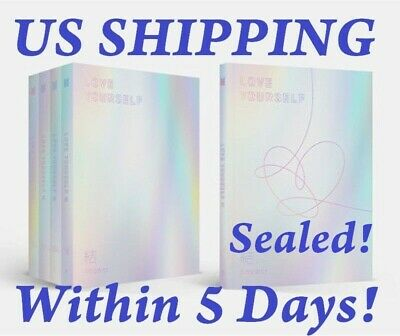 US SHIPPING BTS-[Love yourself 結 Answer]4th Random CD+BTS Poster+etc