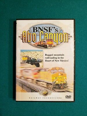 BNSF's Abo Canyon DVD Railway Productions 1999