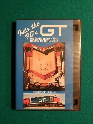 Into the 90's The Grand Trunk - Vol. 1 Chicago to Battle Creek DVD