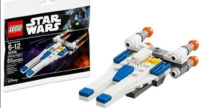 LEGO 30496 Star Wars U-Wing Fighter Polybag 55pcs Building Toy Sealed 6176989