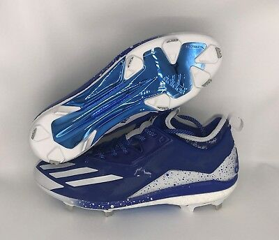 adidas Energy Boost Icon 2.0 Mens Metal Baseball Cleats Blue Size 13.5  CG4317 6d2093543