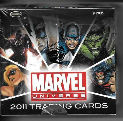 Rittenhouse Archives Marvel Universe 2011 Factory Sealed box