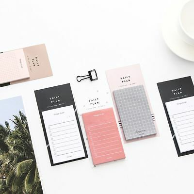 Popular Daily Plan To Do List Weekly Monthly Memo Pad Sticky Notes School Office
