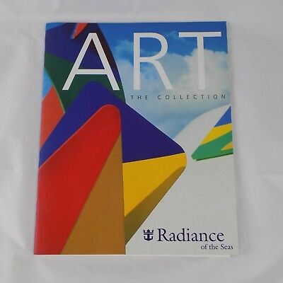 Art the Collection Royal Caribbean Radiance of the Seas Brochure of on-board Art