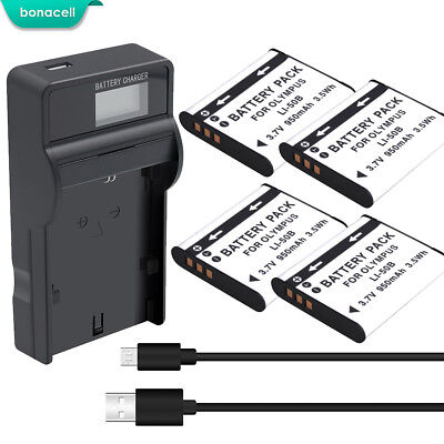 3.7V LI-50B BATTERY or Charger FOR OLYMPUS TG-820 iHS STYLUS Tough 6020 8000 TP