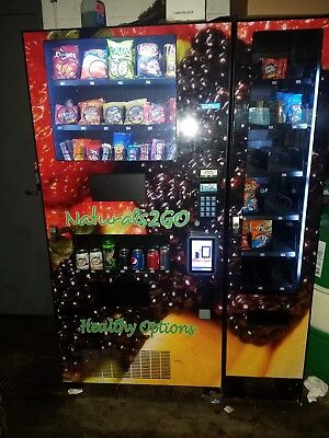Seaga N2G4000 Healthy Combo Vending Machine