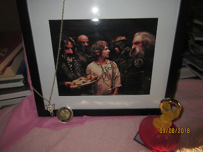 Lord Of The Rings Memoribilia - Signed Photo, Arwen Necklace, Coin, Toy