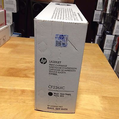 Free Ship HP Laserjet 26X CF226X CF226XC High Yield  Toner Cartridge New Sealed