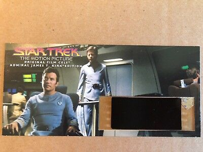 STAR TREK Admiral James The Motion Picture Original Film Cel