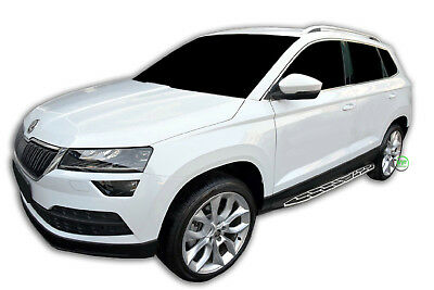 SKODA KAROQ 2017-up  Running Boards Side Steps  PREMIUM QUALITY