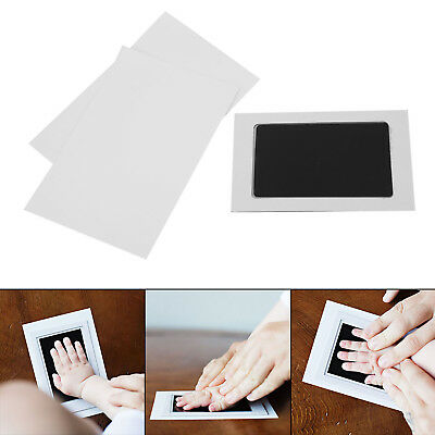 Baby Safe Print Inkless Pad Inkless Footprint Handprint Kit With Photo Frame