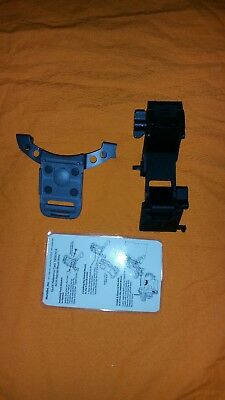 NOROTOS Titanium Rhino Mount II, NVG ACH Lowering Arm with Mount Plate