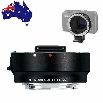 JINTU Metal EF-EOS M Mount Adapter For Canon EF Lens to EF-M EOS Digital Camera