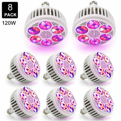 120W UFO Full Spectrum LED Plant Grow Light Lamp Indoor For Hydroponic Plant