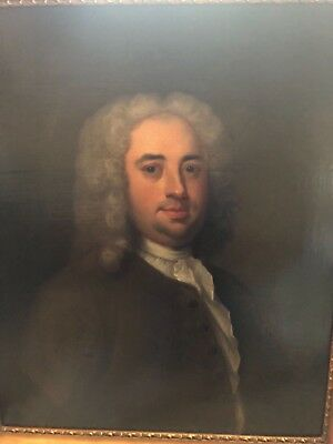 OLD MASTER PORTRAIT - 18th CENTURY LARGE OIL ON CANVAS - NO RESERVE