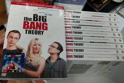 Serie Completa The  Big Bang Theory 1-10