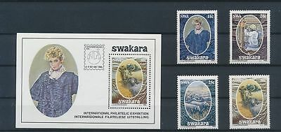 LJ11880 South West Africa swakara fur industry fine lot MNH