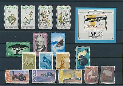 LJ11886 South West Africa nice lot of good stamps MNH