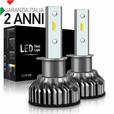 Kit Led H1 6000K Full Canbus Xenon 12000Lm Lumen Lampade