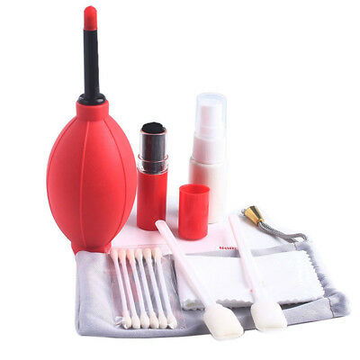7PCS Professional Lens Cleaning Cleaner Kit Set For DSLR Nikon Canon Sony Camera