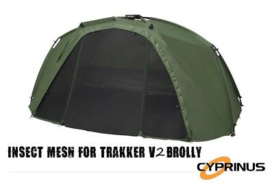 Cyprinus™ Front Mesh V2 fits the Trakker Tempest V2 Brolly Perfectly