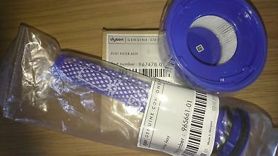 Dyson V8 Filter Kit, Genuine Pre and Post Motor Filters 965661-01 & 967478-01