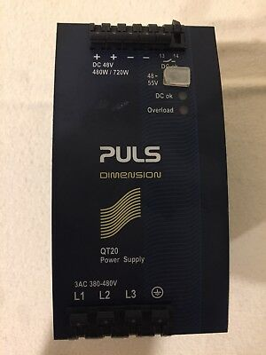 PULS QT20.481 Dimension DIN Rail Power Supply! PERFECT WORKING CONDITION!