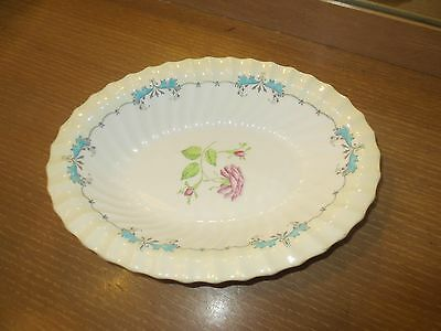 "Mid Century Royal Doulton ""the Picardy"" Oval Serving Bowl 10"""