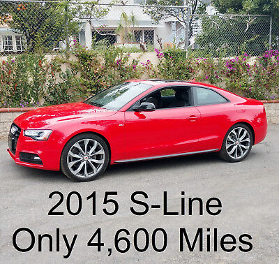 2015 Audi A5 2.0T quattro Premium Plus 2015 Audi A5 Coupe S-Line Premium Plus 4,600 Miles Sports Seats Calif.