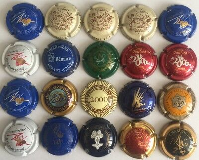 FAIRE OFFRE lot capsules champagne An 2000