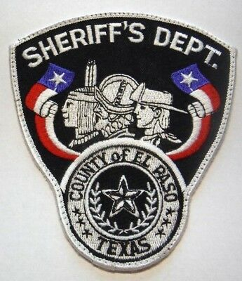 Old El Paso County Texas Sheriff Patch