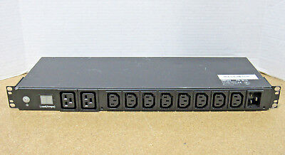 Tripp-Lite 208/230V 16A Metered PDU with 10 Outlets PDUMH20HV Tested Working
