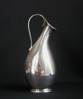 Japanese Silver Miniature Vessel, Signed