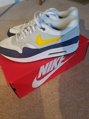 NIKE AIR MAX 1 whiteTour yellow blue recall EUR 44,21