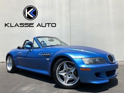 M Roadster  2000 BMW M Roadster 5 Speed Manual Convertible New Clutch Serviced New Brakes