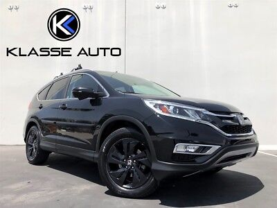 CR-V Touring 2015 Honda CR-V Touring Automatic SUV 1 Owner Low Price Loaded Heated Seats Wow