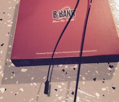"""B-Band 29R UST Undersaddle Transducer Pickup for Acoustic Guitar, 1/8"""" wide, NOS"""