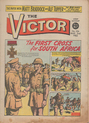 The Victor 106 Fine 2Nd Mar 1963 Dc Thomson Uk Comic