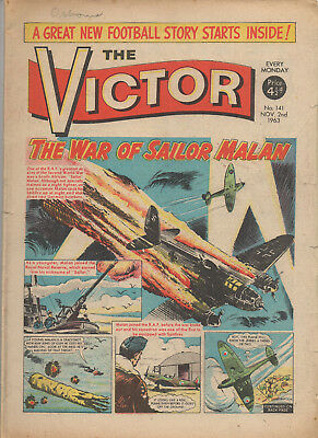 The Victor 141 Very Good 2Nd Nov 1963 Dc Thomson Silver Age Comic