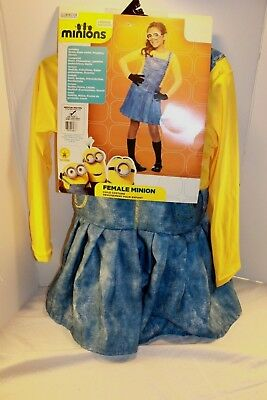 New Despicable Me Minions Child Halloween Costume size Medium 5-7 Years Rubies