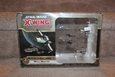 Fantasy Flight Xwing Miniatures Game Most Wanted Expansion