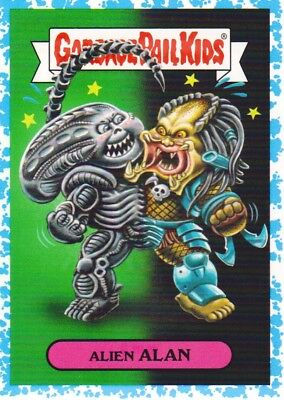2018 Garbage Pail Kids Oh The Horror-ible Spit #MSF1a Alien Alan /99