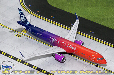 1:200 A321neo More to Love Alaska Airlines