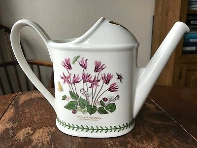 Portmeirion Botanic Garden Watering Can Cyclamen Narcissus Vintage China
