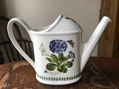 Portmeirion Botanic Garden Watering Can Primula Vintage China