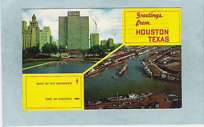 1962 Greetings From Houston, Texas*L
