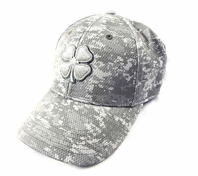 299775b4794 NEW BLACK CLOVER Live Lucky BC Freedom 2 Grey Tan Camo Fitted L XL ...