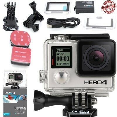 GoPro HERO 4 Silver Edition 12MP Waterproof Sports & Action Camera NEW