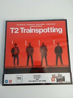 T2 Trainspotting Big Sleeve Edition Blu Ray & DVD