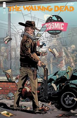 WALKING DEAD #1 COSMIC COMIX STORE VARIANT : IMAGE 2018 : 15th ANNIV